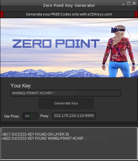 Zero Point cd-key