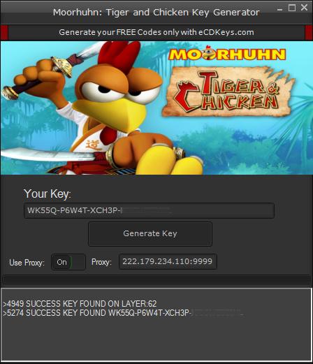 Moorhuhn: Tiger and Chicken cd-key