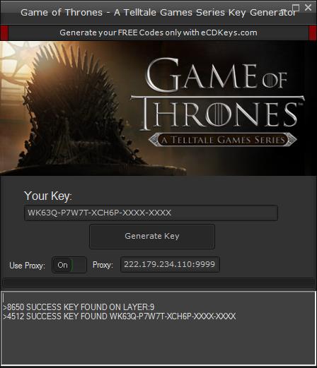 Game of Thrones - A Telltale Games Series cd-key