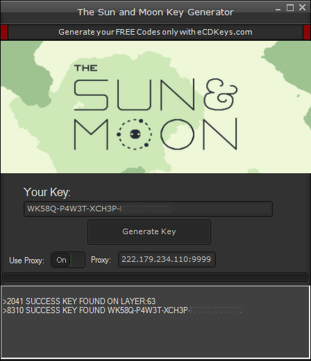 The Sun and Moon cd-key