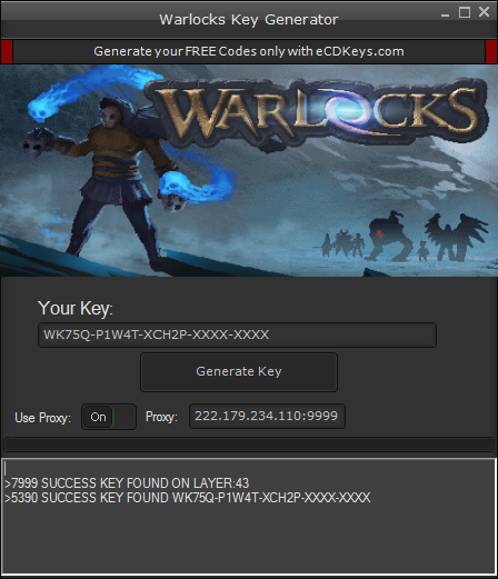 Warlocks cd-key