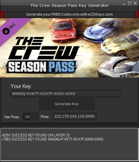 The Crew Season Pass cd-key