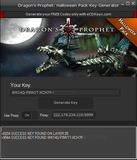 Dragon's Prophet: Halloween Pack cd-key