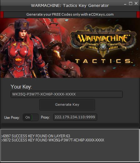 WARMACHINE: Tactics cd-key