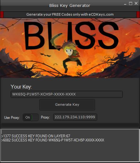 Bliss cd-key