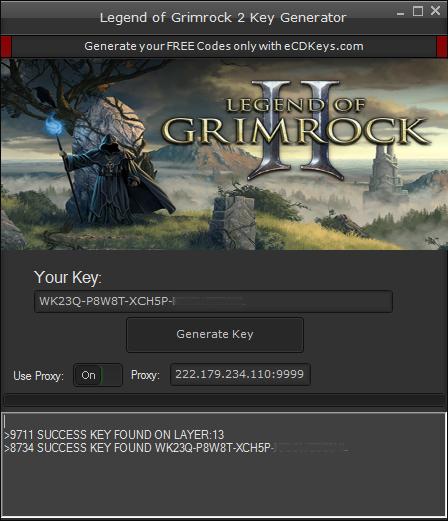 Legend of Grimrock 2 cd-key