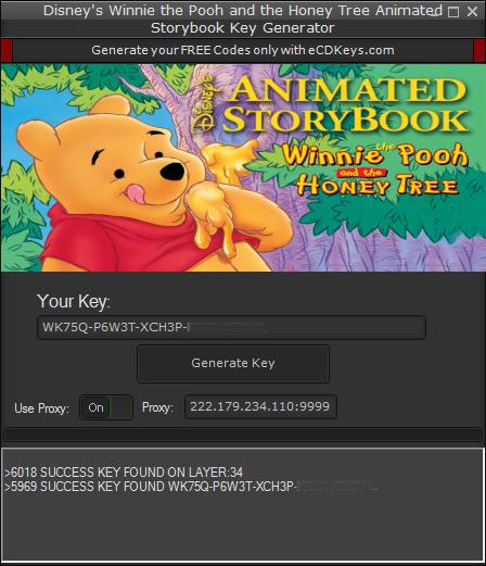 Disney's Winnie the Pooh and the Honey Tree Animated Storybook cd-key