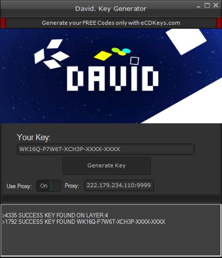 David. cd-key