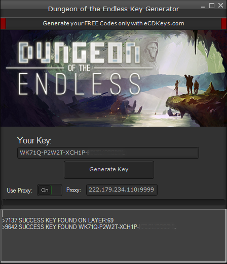 Dungeon of the Endless cd-key