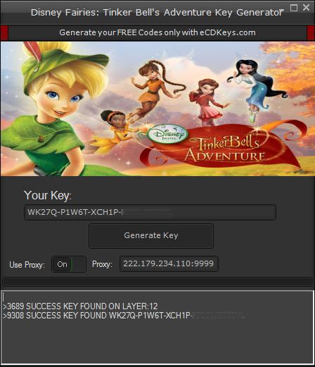 Disney Fairies Tinker Bell's Adventure cd-key