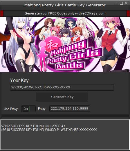 Mahjong Pretty Girls Battle cd-key