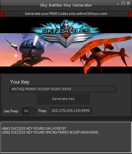 Sky Battles cd-key