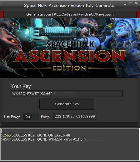 Space Hulk Ascension Edition cd-key