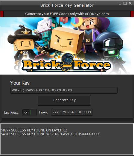 Brick-Force cd-key
