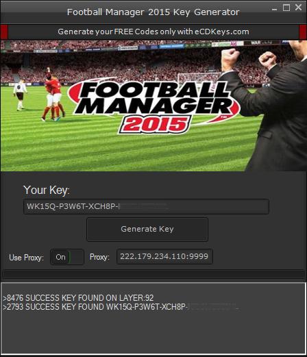 Football Manager 2015 cd key