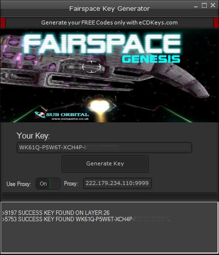 Fairspace cd-key