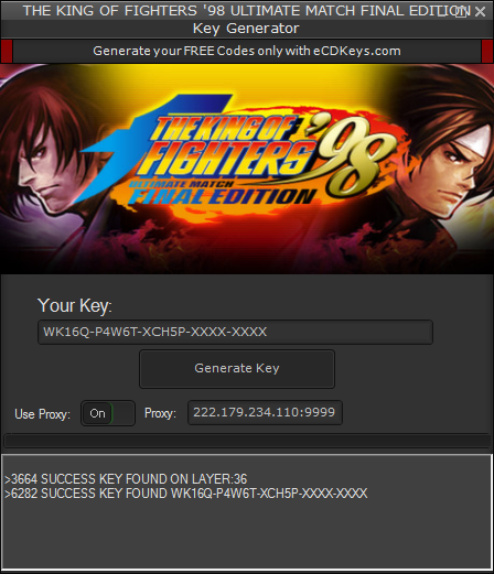THE KING OF FIGHTERS '98 ULTIMATE MATCH FINAL EDITION cd-key