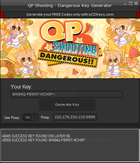 QP Shooting - Dangerous cd-key