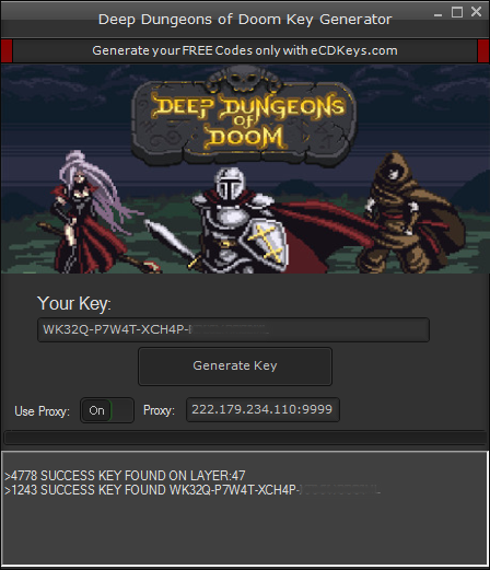 Deep Dungeons of Doom cd-key