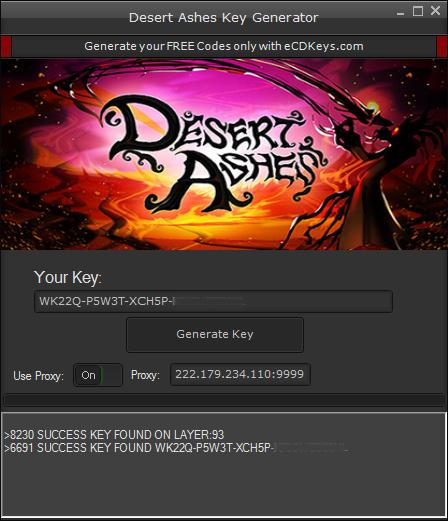Desert Ashes cd-key