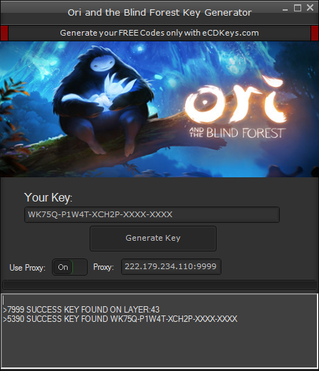 Ori and the Blind Forest cd-key