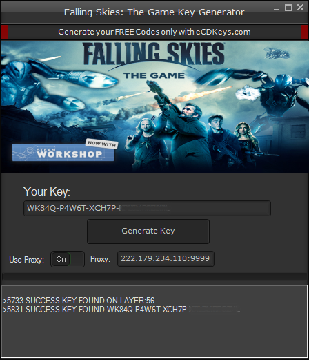 Falling Skies: The Game cd-key