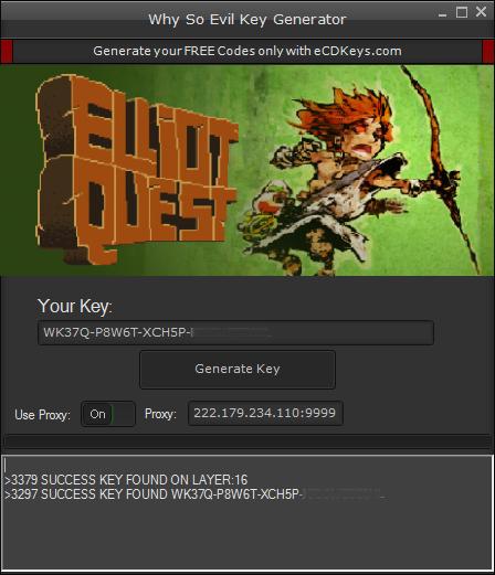 Elliot Quest cd-key