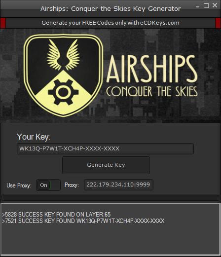 Airships: Conquer the Skies cd-key