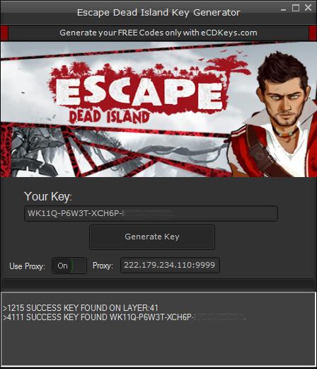 Escape Dead Island cd-key