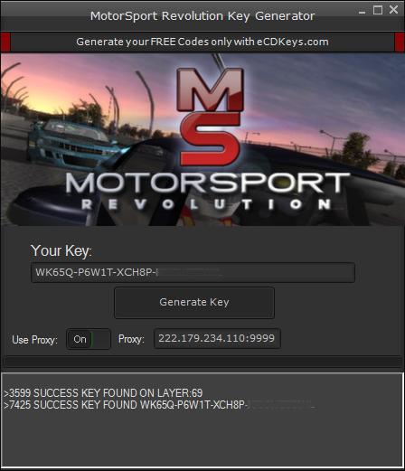 MotorSport Revolution cd key