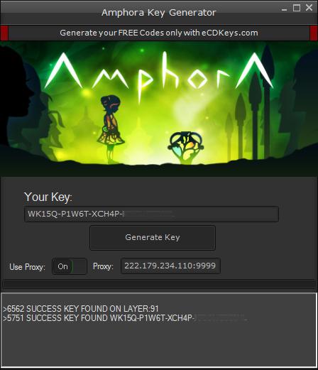 Amphora cd-key