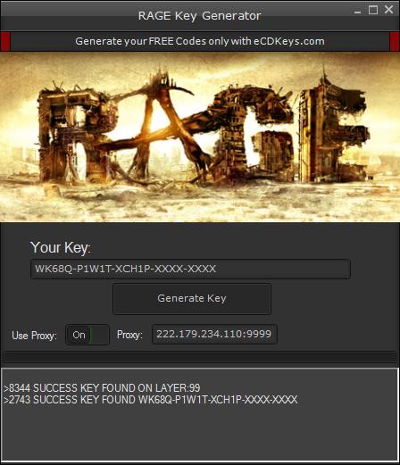 RAGE cd-key