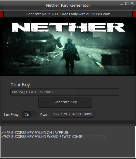 Nether cd-key