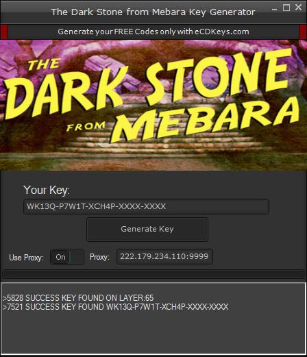 The Dark Stone from Mebara cd-key