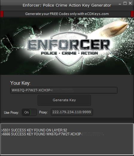 Enforcer: Police Crime Action cd-key