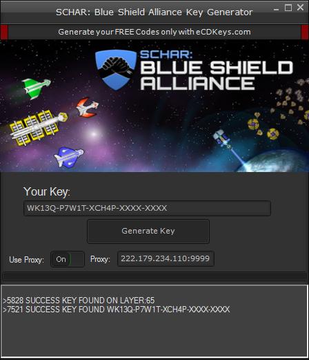 SCHAR: Blue Shield Alliance cd-key