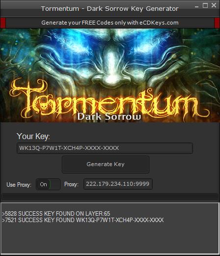 Tormentum - Dark Sorrow cd-key