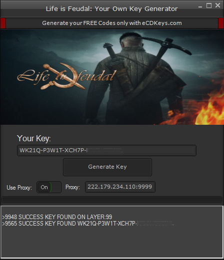 Life is Feudal Your Own cd-key