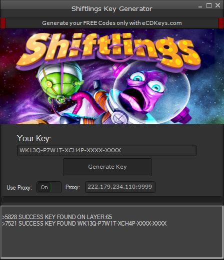 Shiftlings cd-key