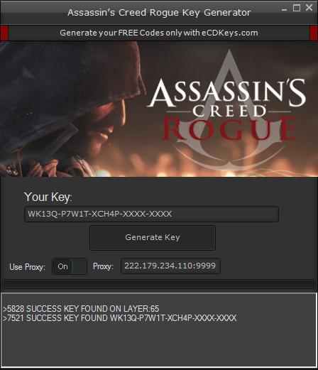 Assassin's Creed Rogue cd-key
