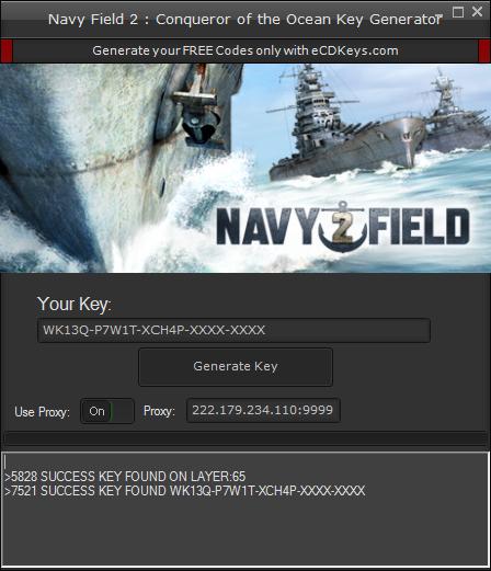 Navy Field 2 : Conqueror of the Ocean cd-key