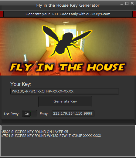 Fly in the House cd-key