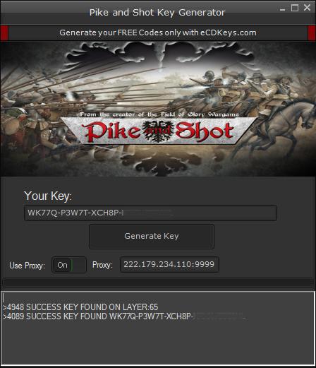 Pike and Shot cd-key