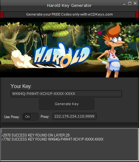 Harold cd-key