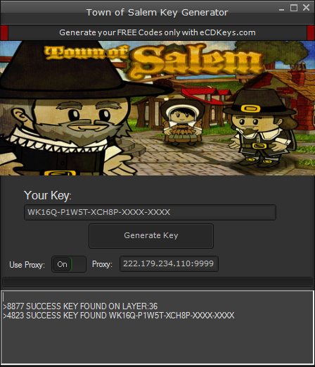 Town of Salem cd-key