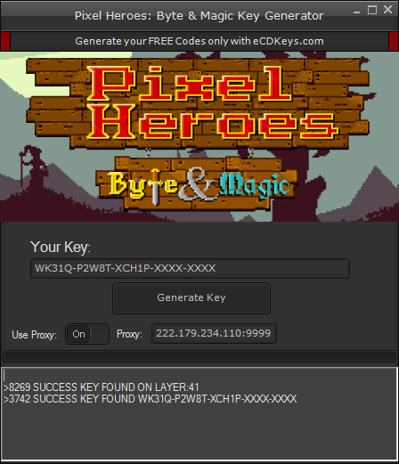 Pixel Heroes: Byte & Magic cd-key