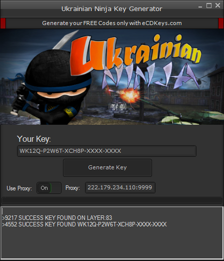 Ukrainian Ninja cd-key