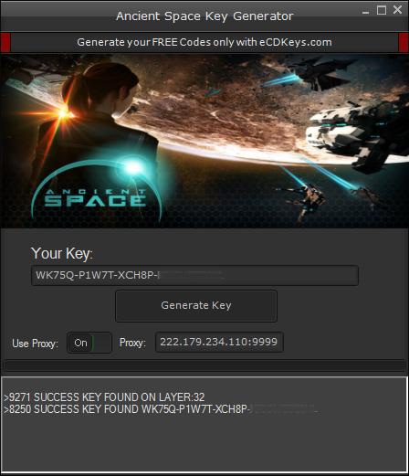 Ancient Space cd-key