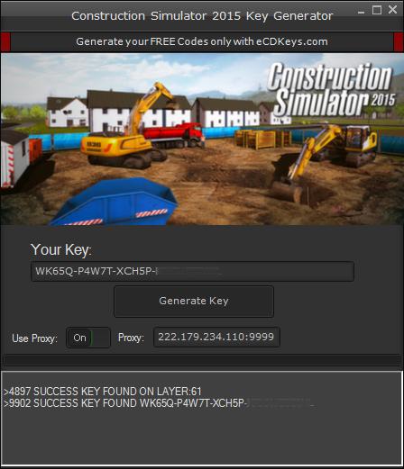 Construction Simulator 2015 cd-key