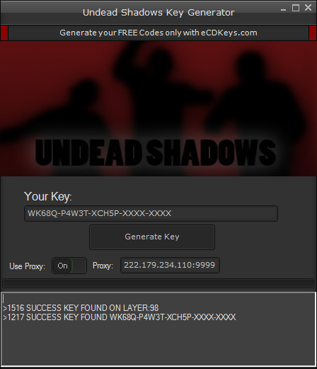 Undead Shadows cd-key